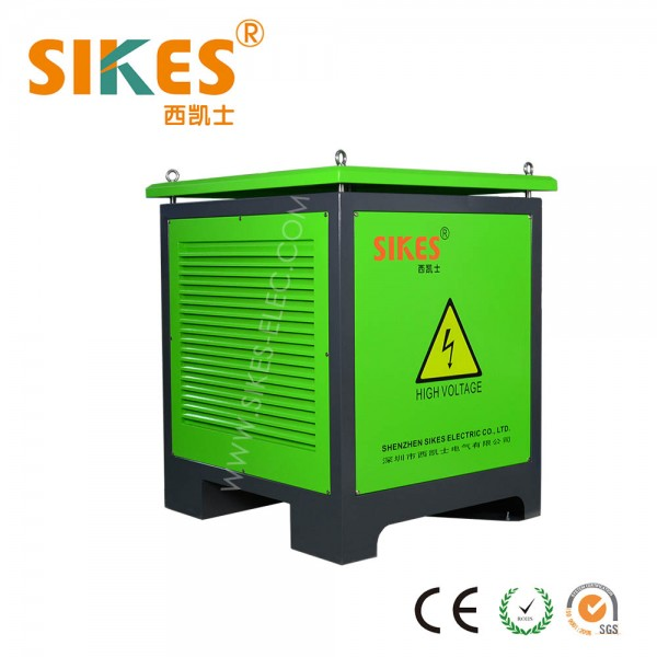 Braking Resistor Cabinet 100kW, IP54 dedicated for port crane & industrial elevator