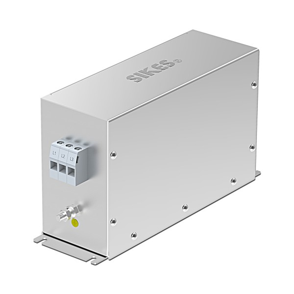 EMC/EMI Filter 3-phase Input, Rated current 60A [Vertical]