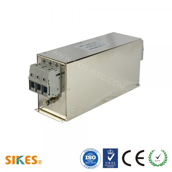EMC/EMI Filter 3-phase Input, Rated current 180A [Vertical]