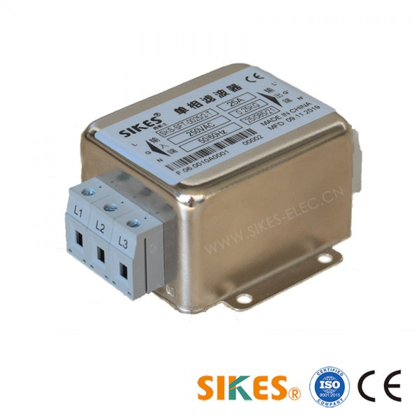 Single Phase EMC Filter Rated current 25A SFT-Series